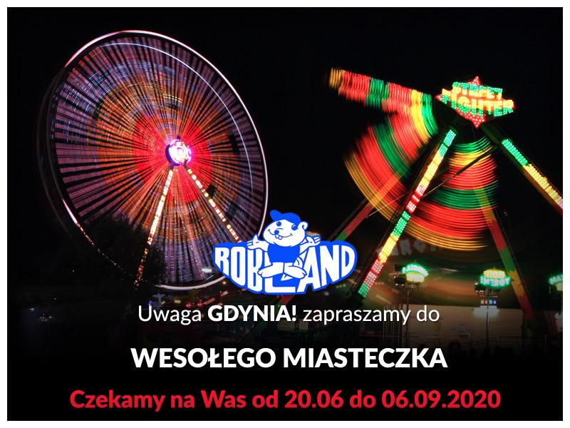 wesołe miasteczko w Gdynii do 6 września