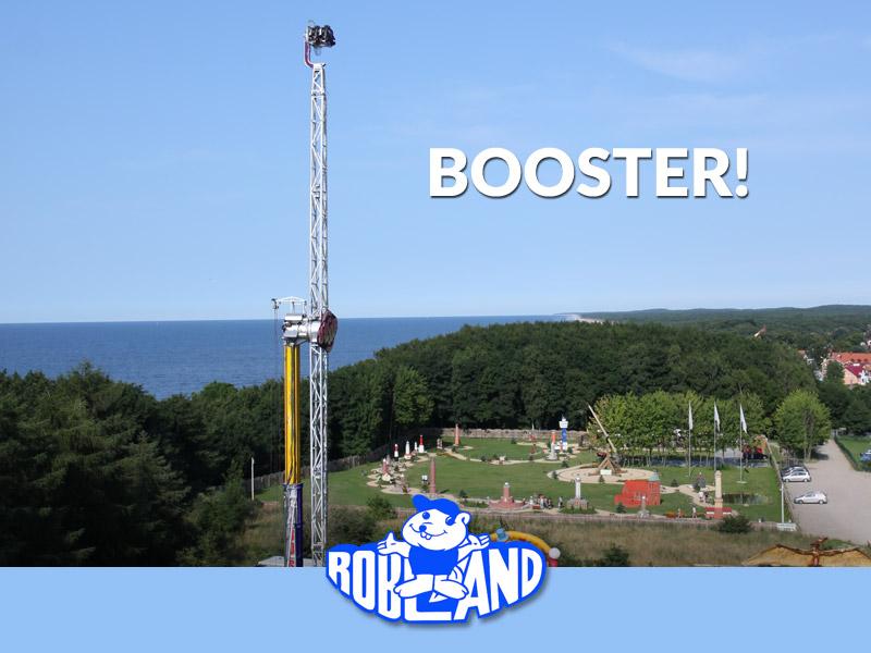 Booster - w lunaparku Robland